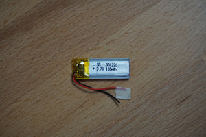 110mAh Lithium Rechargeable Battery