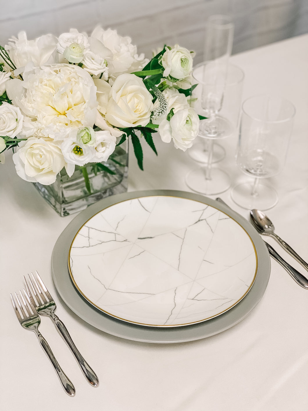 Modern Marble Dinner Party