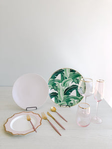 Party Rentals Tableware Tropical