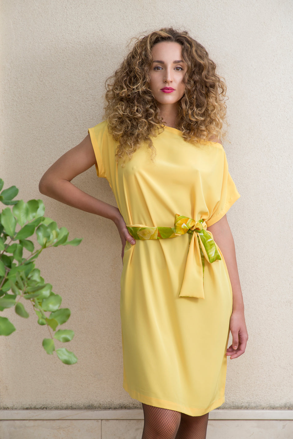 DIDIDRESS Seta Pura Giallo Sole