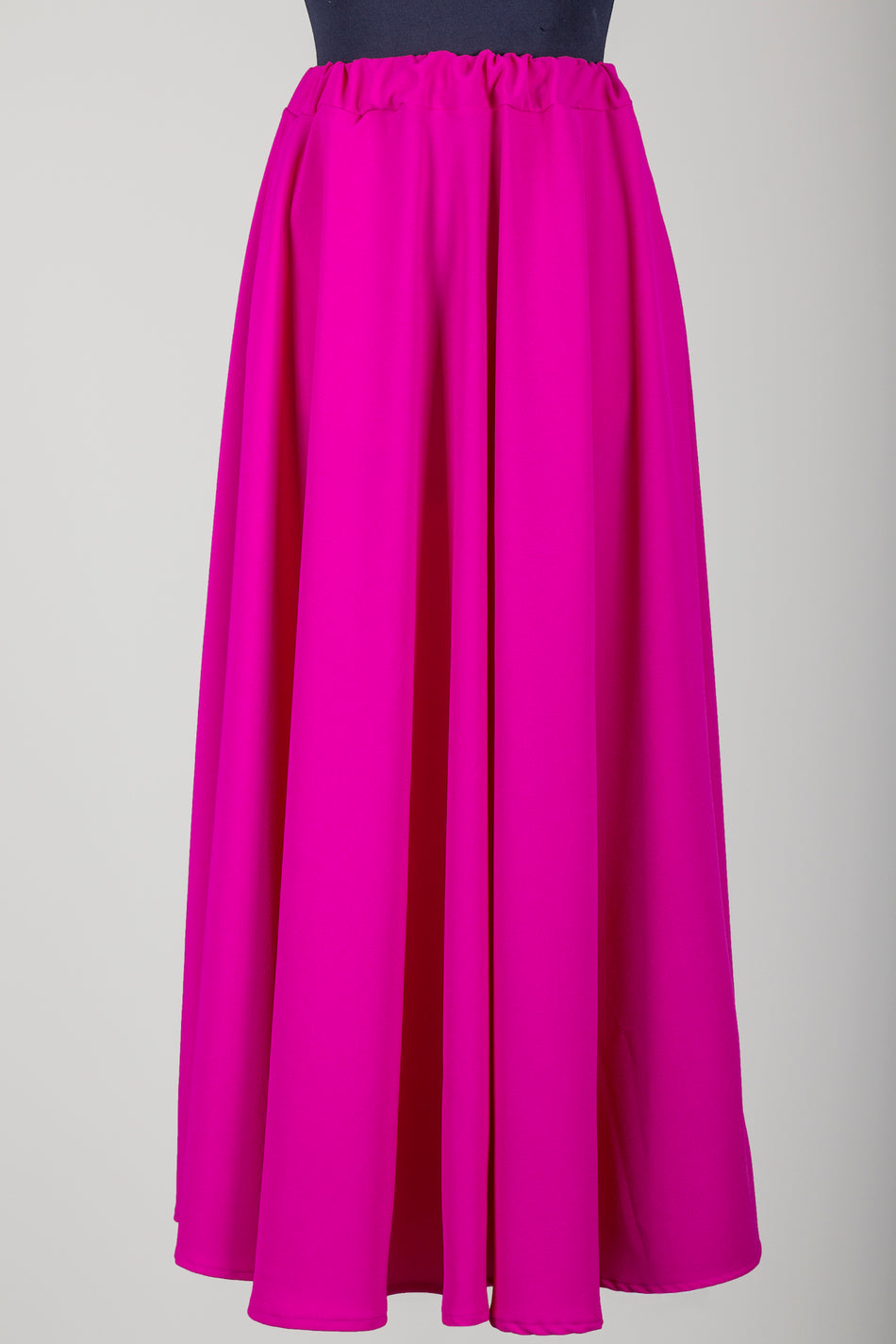 Skirt Corolla in pink silk