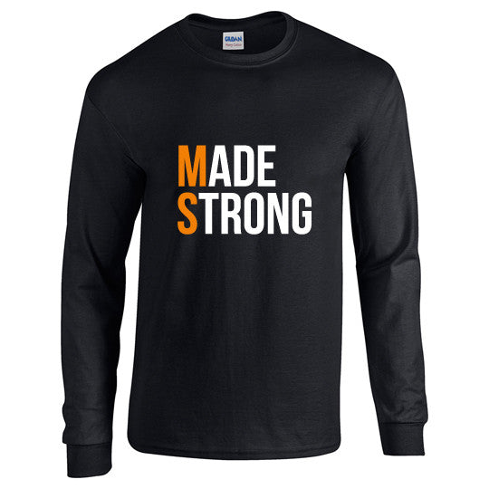 Made Strong® Long Sleeve T-Shirt (Black)