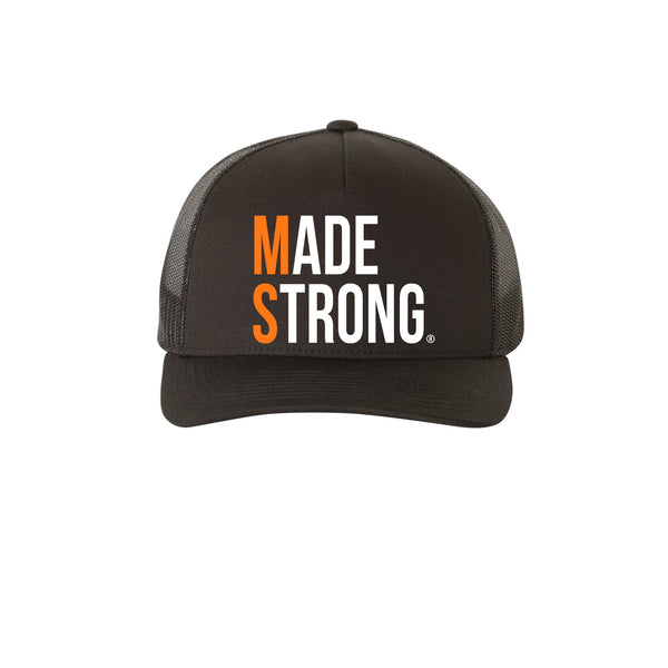 Made Strong® (MS) Retro Trucker Snapback Hat