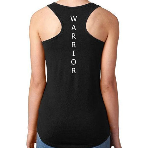 Made Strong® Warrior Back Women's Tank Top Black