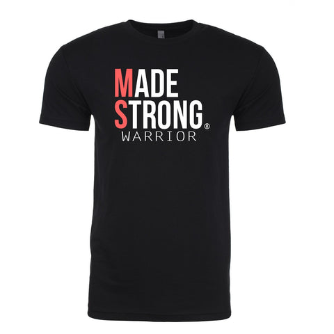 Made Strong® Warrior (MS) T-Shirt (Black)