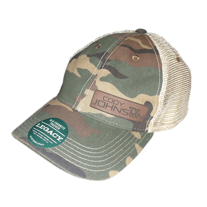 COJO Camo Leather Patch Hat