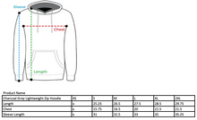 Load image into Gallery viewer, COJO Nation Charcoal Grey Lightweight Zip Hoodie