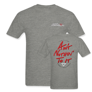 "Cody Johnson ""Ain't Nothin' To It"" Red Tee"