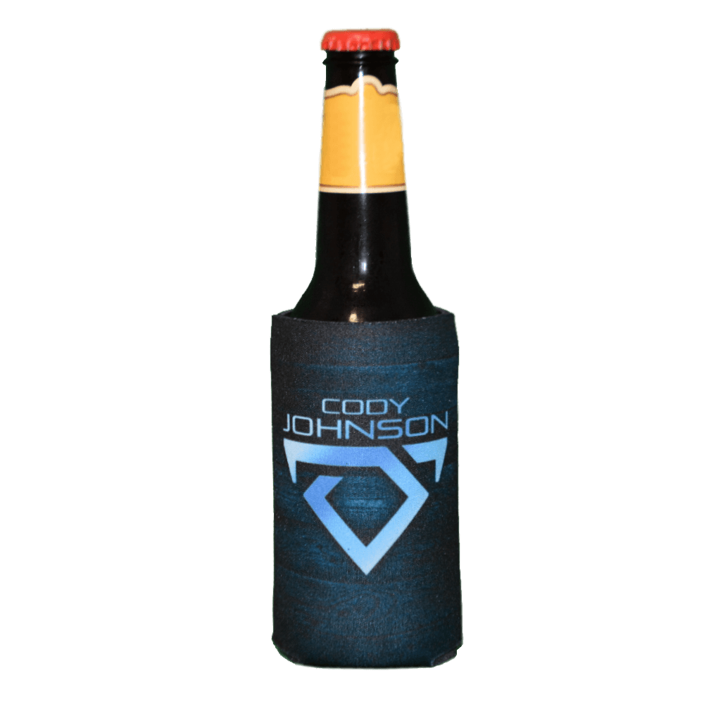 Cody Johnson Long-neck Drink Koozie