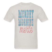 Load image into Gallery viewer, Monday Morning Merle ( Distressed ) Tee Vintage White