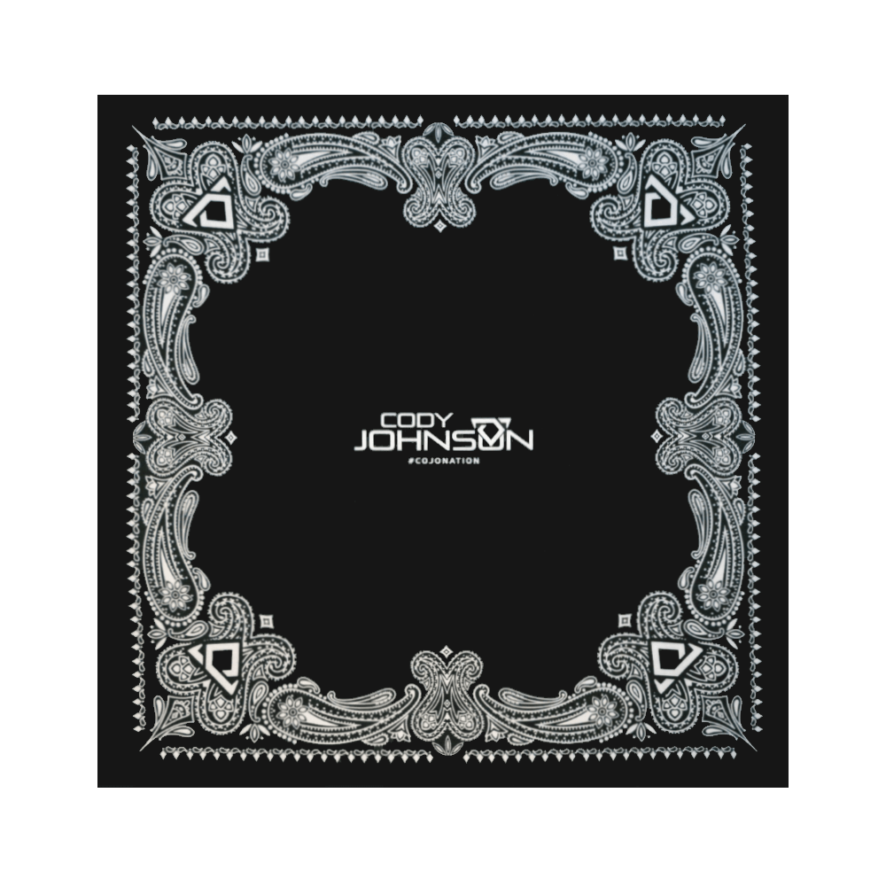 COJO Nation Black Bandanna