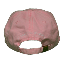 Load image into Gallery viewer, Cody Johnson Pink with Blue Horns Hat
