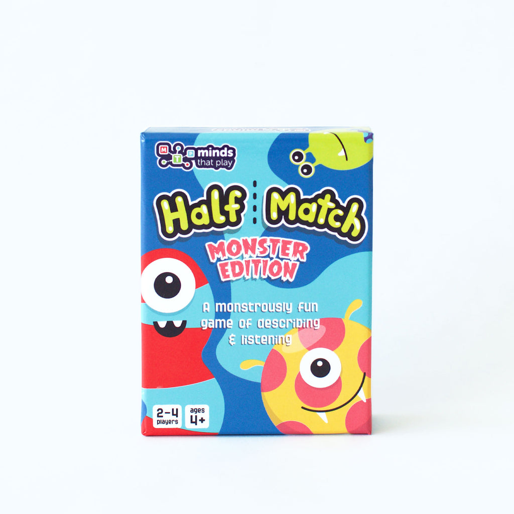 Minds That Play's Half Match card game for kids_front