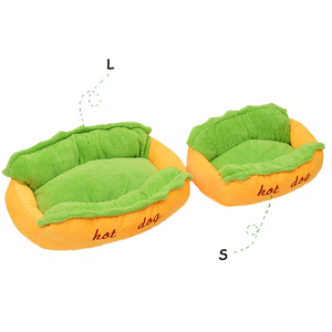 Pet Hot Dog Bed