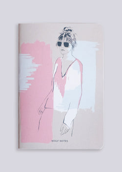 Wolf Notes · Pink 1