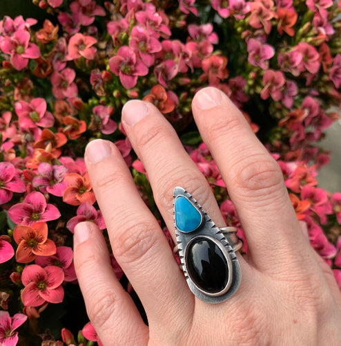 Onyx and Turquoise