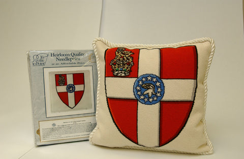Needlepoint Kit: Arms of the Priory in the USA