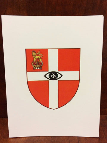 Arms of Hospital Group Note Cards