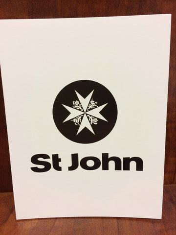 St John Note Cards