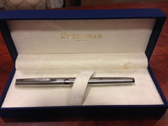 Waterman Hemisphere Stainless Steel Ball Pen