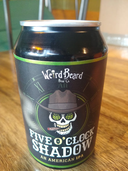 Weird Beard. Five O'clock Shadow. American IPA 7.0% (330ml can)