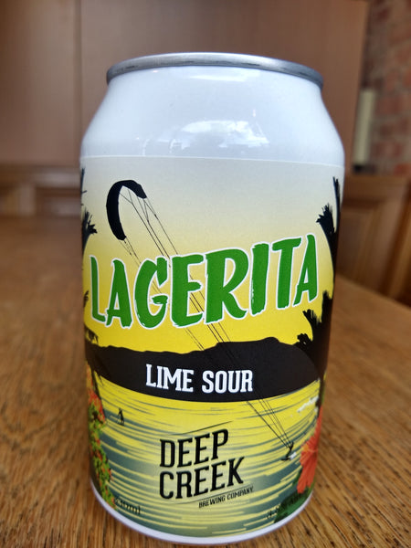 Deep Creek. Lagerita lime sour 3.8% (330ml can)