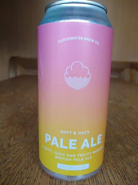 Cloudwater Soft & Hazy Pale Ale 3.7% (440ml can)