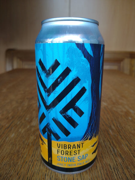 Vibrant Forest. Stone Sap juicy IPA 6.5% (440ml can)