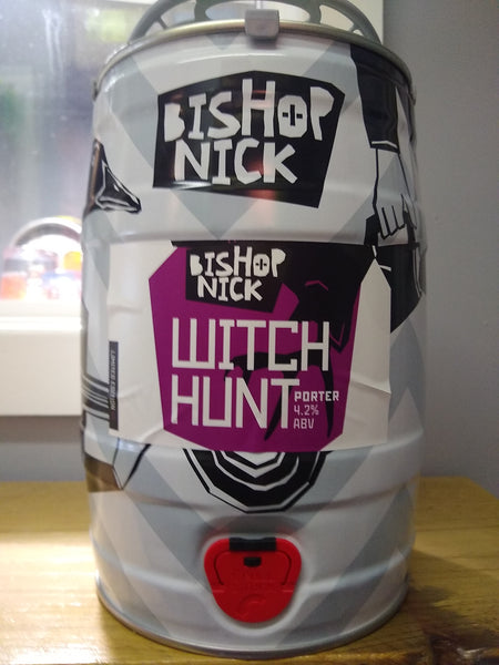 Bishop Nick. Witch Hunt porter 4.2% (5 litre mini cask)