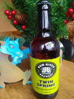 New River. Twin Spring golden ale 4.0% (500ml bottle)