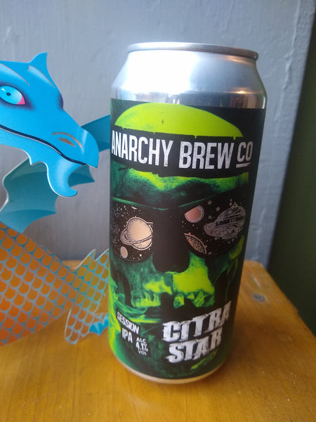 Anarchy. Citra Star. Session IPA 4.1% (440ml can)