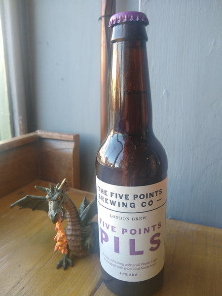 Five Points Pils 4.8% (330ml bottle)