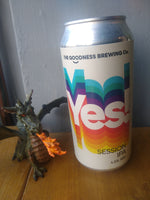 The Goodness Brewery. Yes! Session IPA 4.5% (440ml can)