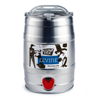 Bishop Nick. Divine premium ale 5.1% (5 litre mini cask)