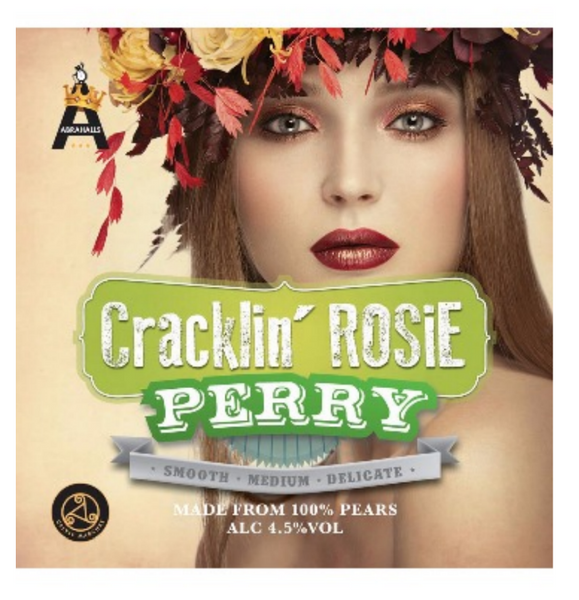 Cracklin' Rosie Perry (draft still pear cider) 4.5%