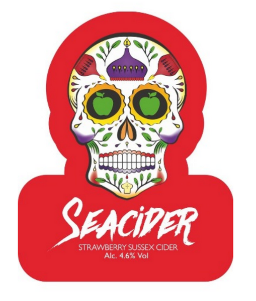 Seacider Strawberry 4% (2 pint carryout)