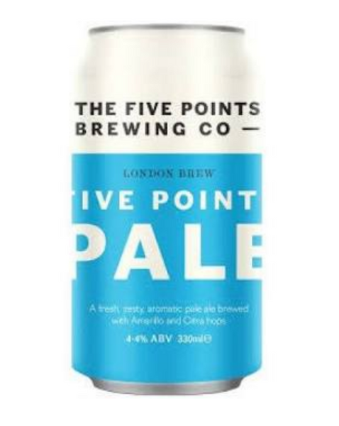 Five Points. Pale 4.4% (330ml can)