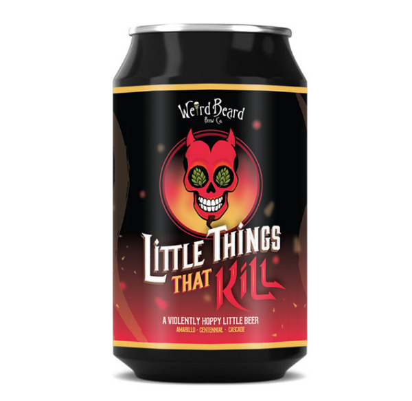 Weird Beard. Little Things That Kill. Session IPA 3.9% (330ml can)