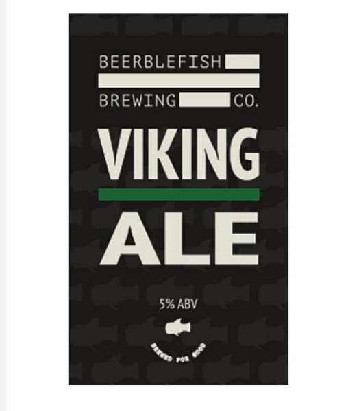 Beerblefish. Viking Ale 5.0% (2 pint carryout)
