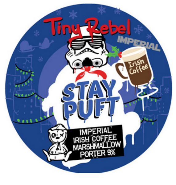 Tiny Rebel. Imperial Irish Coffee Stay Puft 9.0% (keg)