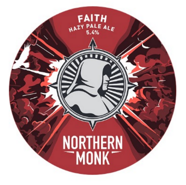 Northern Monk. Faith. Hazy Pale Ale 5.4% (keykeg)