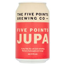 Five Points. JUPA juicy pale 5.5% (330ml can)