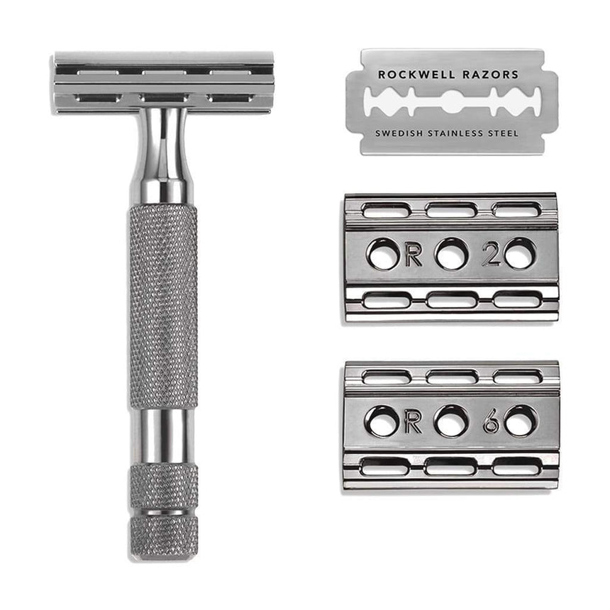 6C Double Edge Razor, Gunmetal