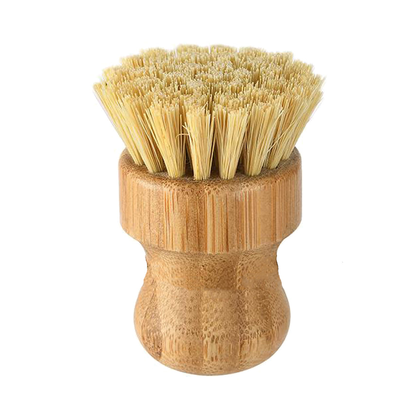 Bamboo Dish & Vegetable Brush