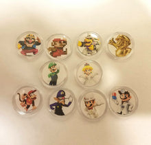 Load image into Gallery viewer, Mario Odyssey Amiibo Coins