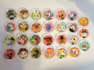 Animal Crossing Amiibo Coins CHOOSE ANY CHARACTER