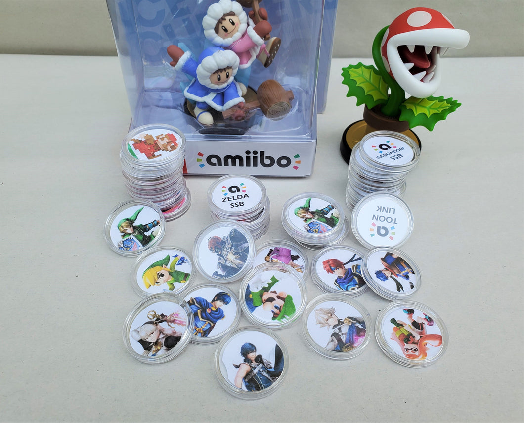 Super Smash Brothers Amiibo Coins