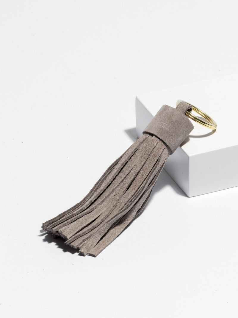 Key Tassel Light Grey