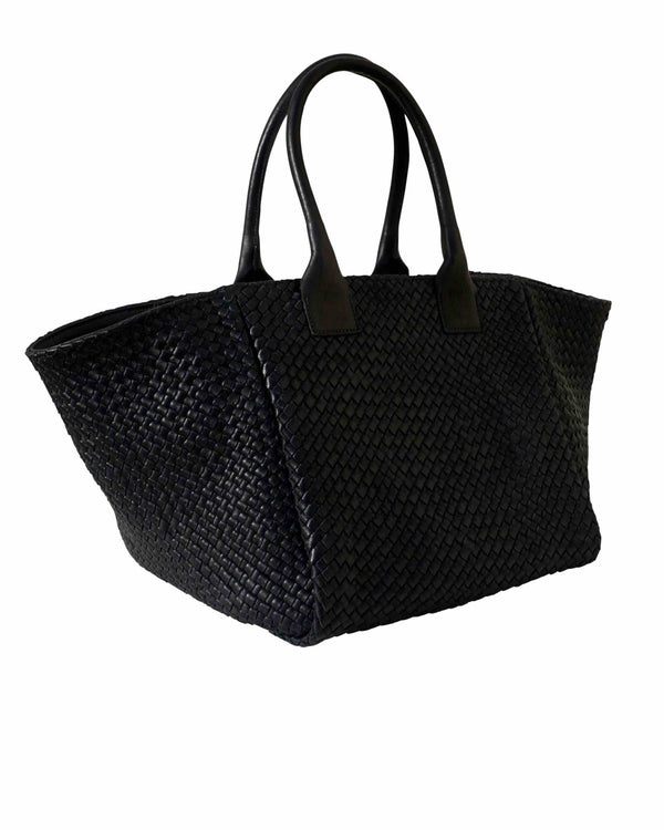 Shoulder Bag Tressé Black