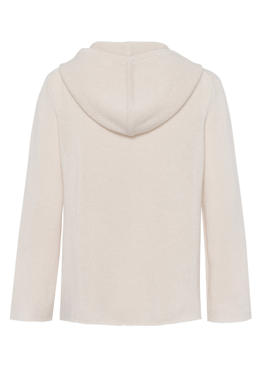 Cashmere Pullover Hoody